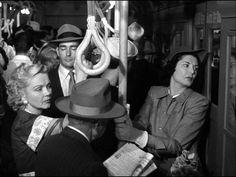 Subway scene taken from Samuel Fuller's Pickup on South Street (1953).