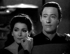 Deanna Troi and Data