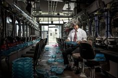 Portraits of Fukushima Nuclear Refugees Back in Ghost Town – Fubiz Media