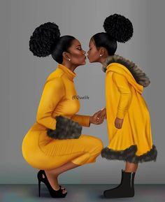 [New] The 10 Best Art Ideas Today (with Pictures) - Le Talent du jour Art by le King Suivez Mr Talent La couronne pour la Queen Melanin Texture Black Love Art, Black Girl Art, My Black Is Beautiful, Black Girls Rock, Black Girl Magic, Art Girl, Black Art Painting, Black Artwork, Mother Daughter Art
