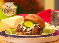 """Rachael Ray Show - On the Show - Blogs - Joe Campanale's Perfect Pairings - """"Whiskey Brisket Sandwich"""""""