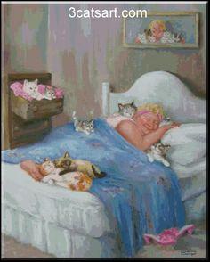 dianne dengel photo: Beauty Sleep Cat_Nap.jpg