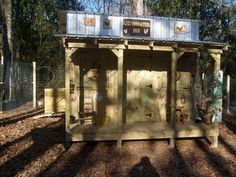 chicken coop porch