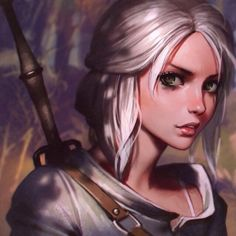#TheWitcher3 Ciri fanart process steps!  You can support me and get access for process steps, videos, PSDs, brushes, etc. at my Patreon page (link in bio)  The National - Green Gloves