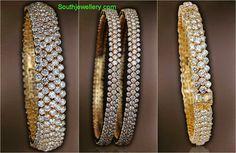 Jewelry bracelets which truly are special. Diamond Necklace Set, Diamond Bangle, Diamond Jewelry, Gold Bangles Design, Jewelry Design, Crystal Jewelry, Gold Jewelry, Gold Bracelets, Antique Jewellery
