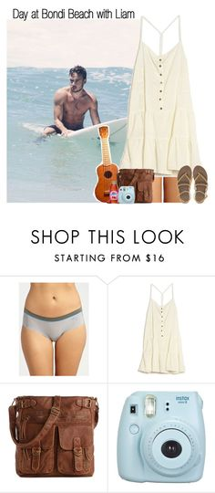 """""""Day at Bondi Beach with Liam"""" by rowenafsouriya ❤ liked on Polyvore featuring DKNY, Current/Elliott, Mix No. 6 and ASOS"""