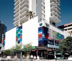 River City Apartments with Design and Decorative Film, via www.hpwf.com.au