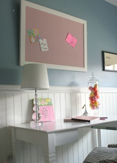 perfect pin boards for a young girl's bedroom