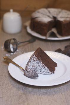 gâteau chocolat grand mère