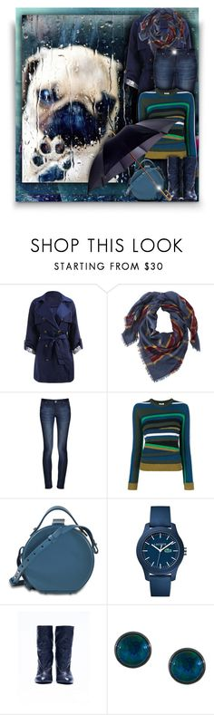 """☔Rainy day!"" by asia-12 ❤ liked on Polyvore featuring L.L.Bean, DL1961 Premium Denim, Kenzo, Nico Giani, Lacoste, A.F. Vandevorst and Astley Clarke"