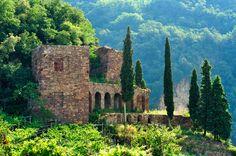 The mysterious Giardino dei Ciucioi in Lavis, Piana Rotaliana, Trentino, Italy