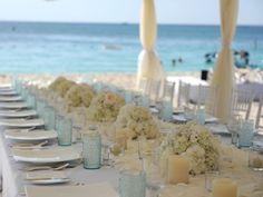 Beach Theme Wedding decor | white wedding theme centerpieces Archives | Weddings Romantique