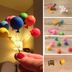 For BDay cards use ♥ half rounds, glue dots or pearls - # half . For BDay cards, use ♥ half rounds, glue dots or pearls – Source by DekoBa Miniature Crafts, Miniature Dolls, Diy Dollhouse, Dollhouse Miniatures, Miniture Dollhouse, Dollhouse Tutorials, Diy And Crafts, Crafts For Kids, Mini Balloons