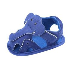Elephant Pattern Hollow Baby Shoes-Kacakid-Brown-3-TouchyStyle   Elephant Pattern Hollow Baby Boy Casual Prewalkers Soft Sole Summer Shoes 0-18 M New.