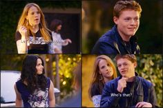 Switched at Birth. Emmett and Bay.