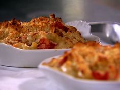 Lobster Mac and Cheese Recipe : Ina Garten : Food Network. Ok, this is really expensive. We had this for New Year's. It's beyond delicious. Treat yourself sometime with this.
