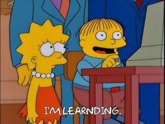 Ralph Wiggum, The Simpsons, White Girls, Lisa Simpson, Favorite Tv Shows, Animation, Wallpaper, Memes, Puppet