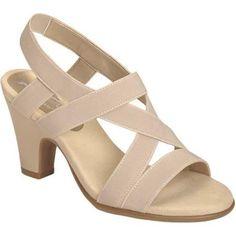 Women's A2 by Aerosoles Scone Dress Sandal Nude Patent (US Women's M (Regular))