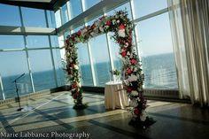 One Atlantic- Atlantic City, N.J. #wedding #ceremony #alter