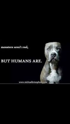 And sadly a lot of humans are monsters!