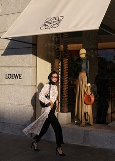 From Loewe's factory production line and the surreal