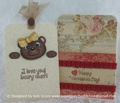 Paper Punch Addiction: January Peachy Keen Release designed by Kim Score