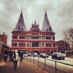 Holstentor, Lübeck.