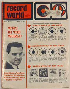 Record World Magazine (9-21-68)