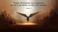 Salmo 91 completo, com explicação, oração, video narrado e as melhores fotos para imprimir. Confira aqui o Salmo 91, o mais importante da Bíblia.