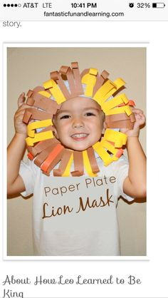 Plate lion king craft