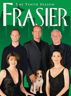 'Frasier,' Kelsey Grammer as Dr. Frasier Crane a Psychologist Radio Host, this Show and Character are a Spin-Off of Cheers, 1993-2004.