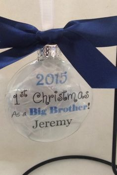 Memorial Christmas Ornament In Memory Loved by ShopCreativeCanvas