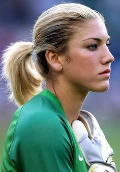 She's so prettyand good at soccer