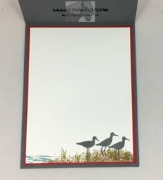 Stampin' Up! High Tide on Your Side! High Tide Stampin Up, Sympathy Cards, Greeting Cards, Nautical Cards, Verses For Cards, Diy Cards, Handmade Cards, Birthday Cards For Men, Card Making Techniques