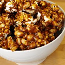 Caramel corn recipe from Prospect restaurant in San Francisco minus the peanuts