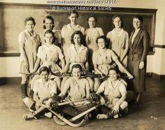 vintage field hockey