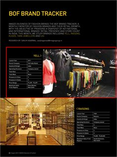 Yell got featured in Images Business of Fashion.