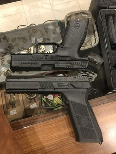 CZ P 10c vs CZ P -09Save those thumbs & bucks w/ free shipping on this magloader I purchased mine http://www.amazon.com/shops/raeind  No more leaving the last round out because it is too hard to get in. And you will load them faster and easier, to maximize your shooting enjoyment.  loader does it all easily, painlessly, and perfectly reliably