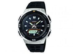 Relógio Masculino Casio AQ-S800W-1EVDF - Anadigi Resistente à Água Calendário