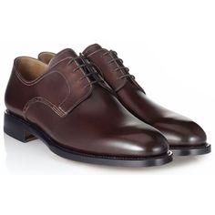 AURINO-32-7 Мужские туфли Bally Aurino коричневые