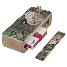 (Roses on Weathered Wood) Cribbage Boards
