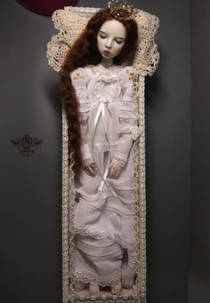 Aisling porcelain ball jointed doll BJD by Sophia H Y. $1,700.00, via Etsy.