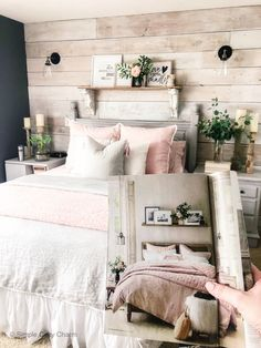 Combat those mid-winter blues by giving your bedroom a facelift. Come check out my source of inspiration, and how I shopped my home! Cute Bedroom Ideas, Girl Bedroom Designs, Winter Bedroom, Dream Rooms, My New Room, Beautiful Bedrooms, House Rooms, Home Decor Bedroom, Room Inspiration