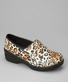 Take a look at this Cheetah Dannis Clog by Rasolli on #zulily today!
