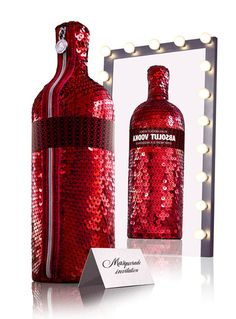 Absolut Vodka Masquerade edition packaging #absolutvodka