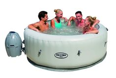 SaluSpa Paris AirJet Inflatable Hot Tub w LED Light Show * Offer can be found by clicking the VISIT button