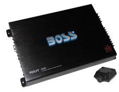 BOSS R4004 1600W 4-Channel RIOT Car Audio Power Amplifier R4004-BOSS,    #BOSS 4-Channel Amps