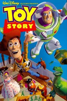 Toy Story movie vhs cover... Basically the cover of my childhood