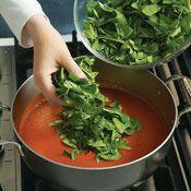 Tomato Florentine Soup   Cuisine at home eRecipes