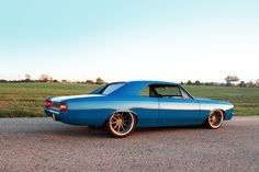 Custom 1966 Chevelle by the RS pro touring concave wheels
